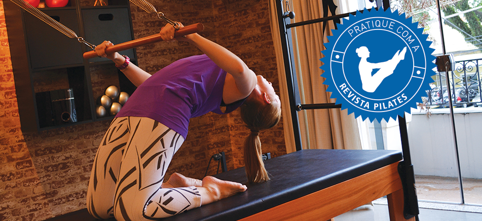 Pratique Pilates com a Revista