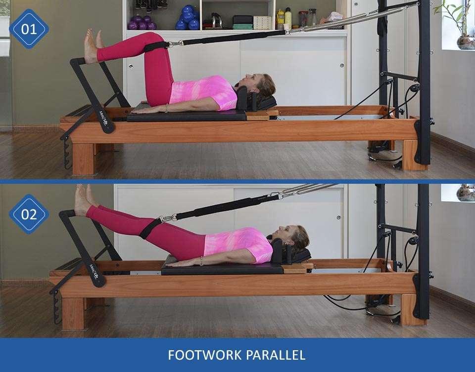 Footwork parallel