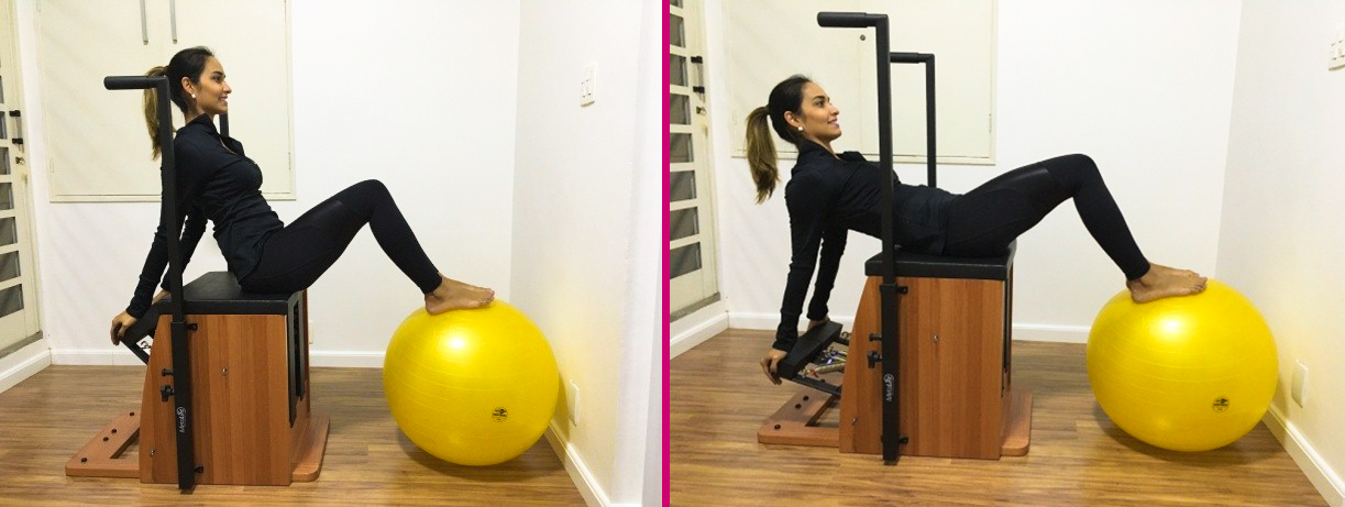 abdominal fitball
