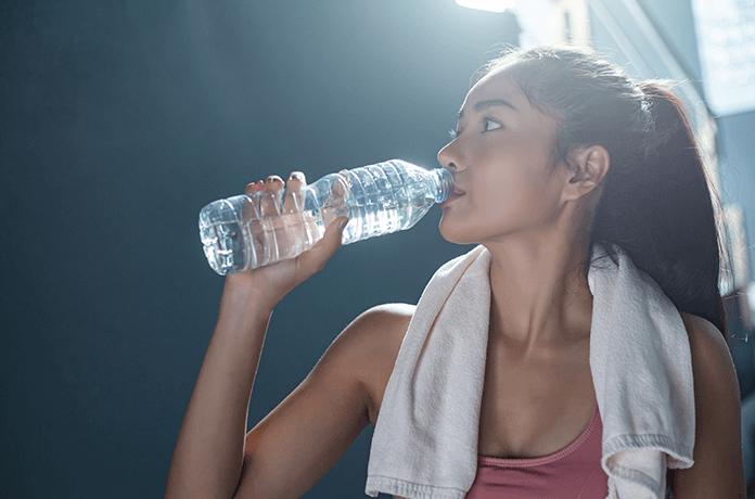 Hidratação e pilates