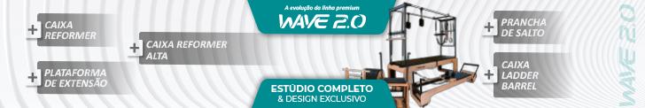 Linha WAVE 2.0 estúdio completo, design exclusivo